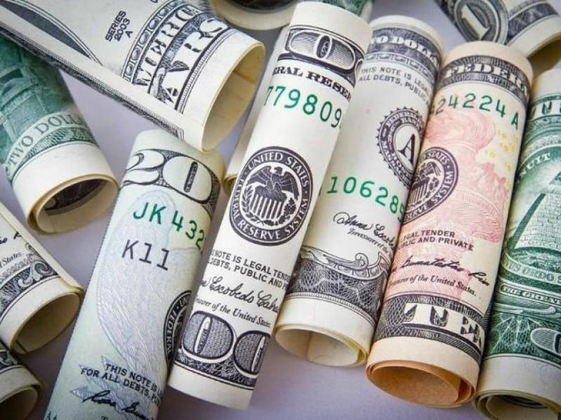Dólar cierra jornada a la baja