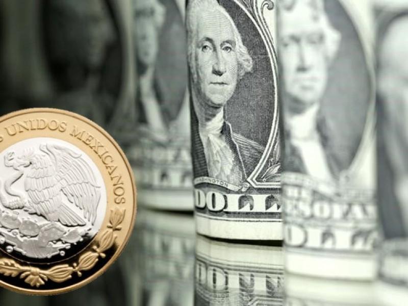 Dólar en 18.95 pesos a la venta