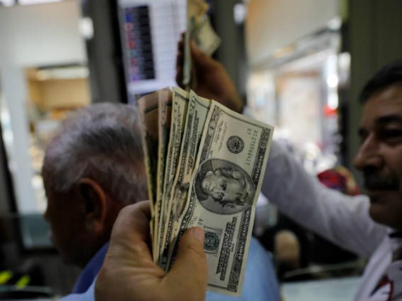 Dólar registra pérdidas