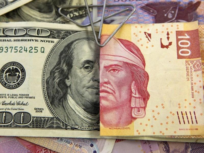 Dólar se recupera, se vende en 19.36 pesos