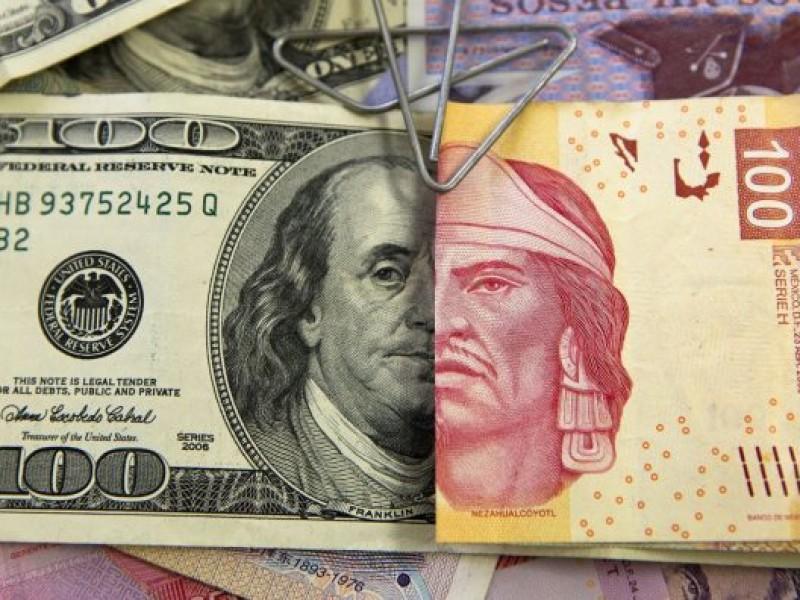 Dólar se vende en 20.49 pesos