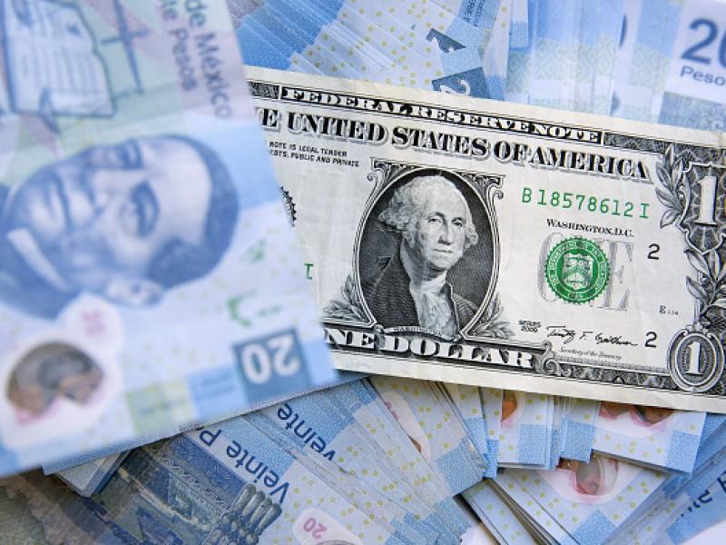 Dólar se vende en 20.81 pesos en bancos