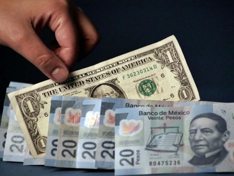Dólar se vende hasta en 21 pesos