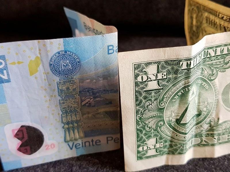 Dólar sube, se vende hasta en 19.50 pesos