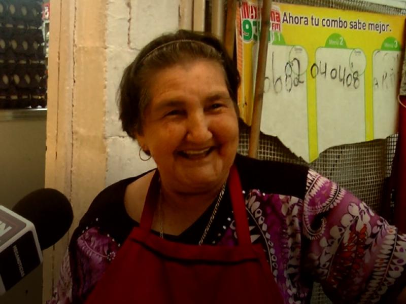 Doña Armida, un personaje del Mercado Municipal