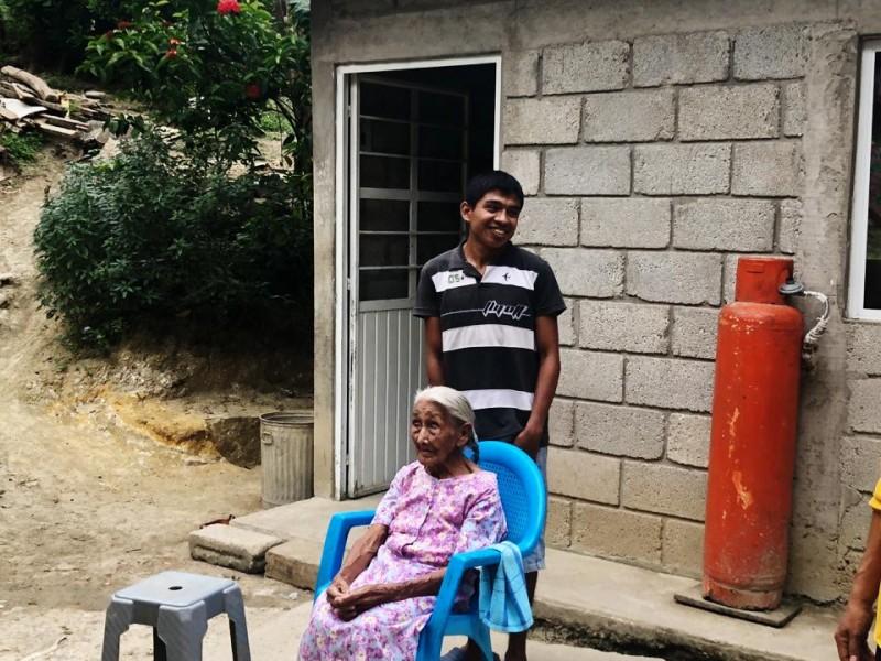 Doña Pascualita, ejemplo de fortaleza a sus 100 años