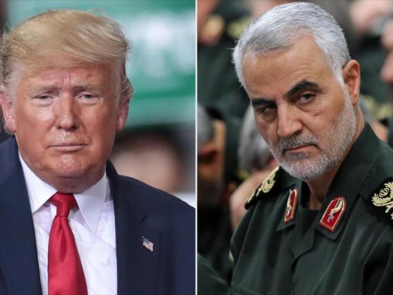 Trump justifica la muerte de Soleimani; lo amenazan
