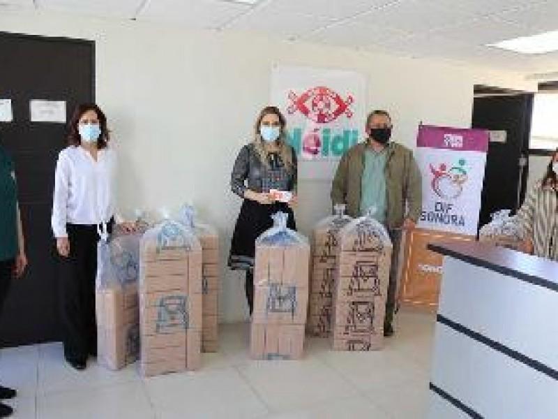Donan Banco de México tabillas de lectura braile