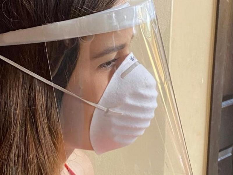 Donan caretas caseras al sector salud, estudiante lanza iniciativa
