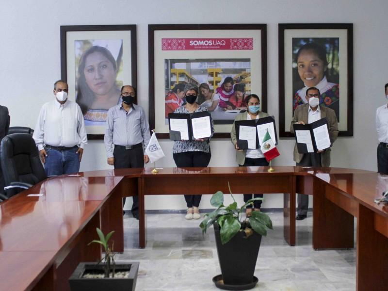 Donan terreno a la UAQ para Campus Landa de Matamoros
