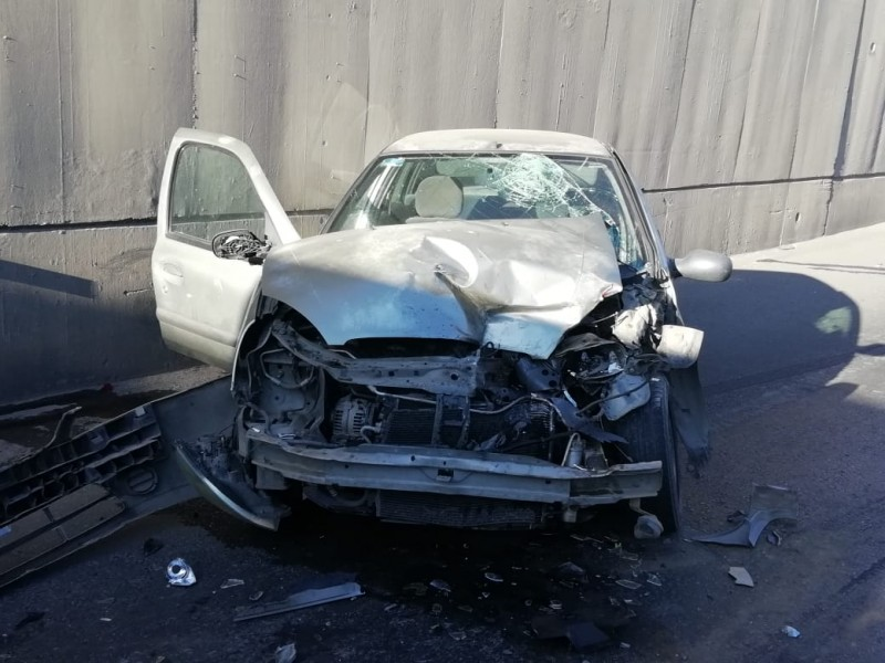 Dos accidentes este martes en Tránsito Pesado