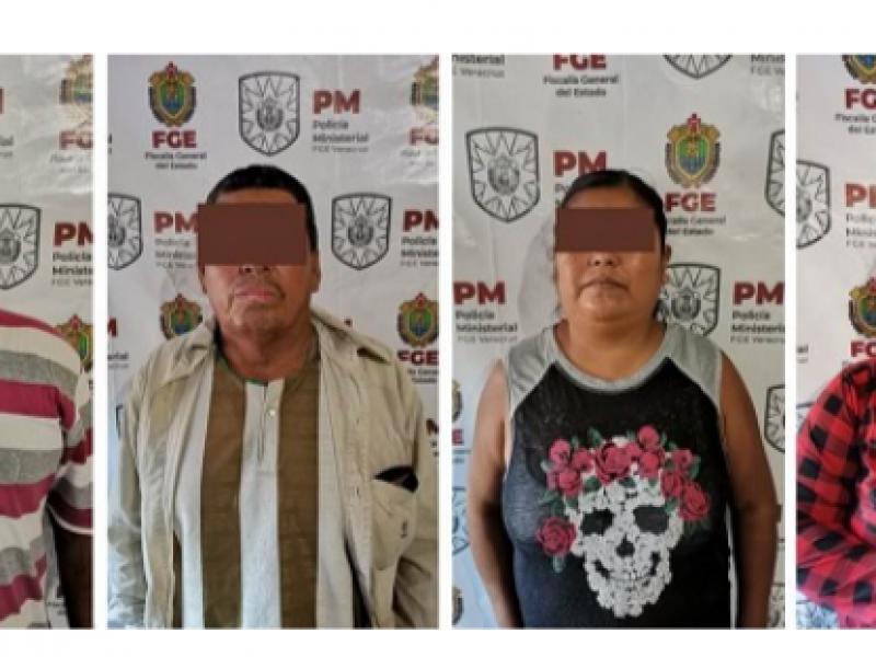 Dos años de prisión preventiva a cuatro presuntos pederastas