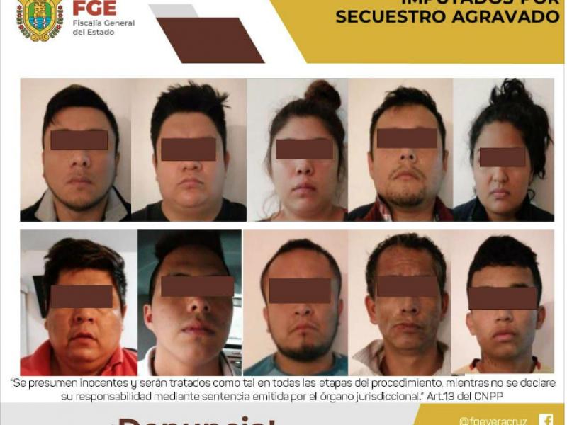 Dos años de prisión preventiva a presuntos secuestradores