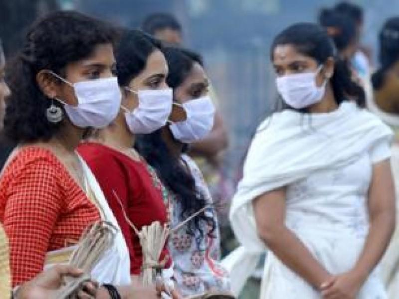 Dos días consecutivos con máximo de casos Covid-19 en India