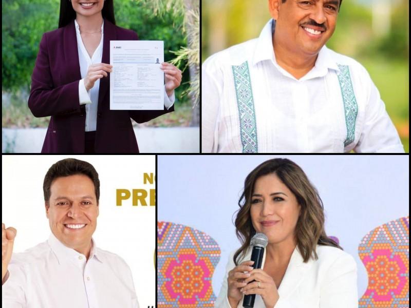 Dos hombres y dos mujeres van por presidencia de Tepic