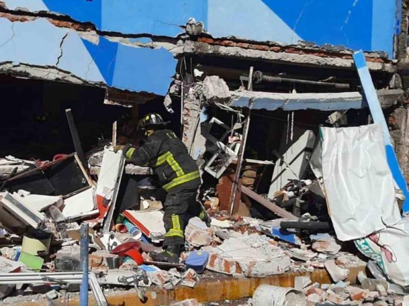 Explosión de gas en restaurante de Azcapotzalco deja dos lesionados