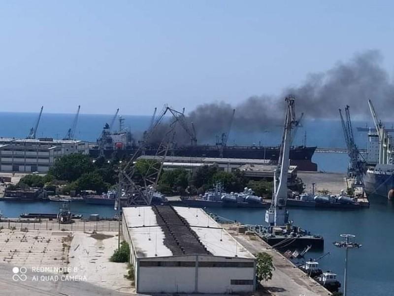 Dos lesionados tras explosión en el puerto sirio de Latakia