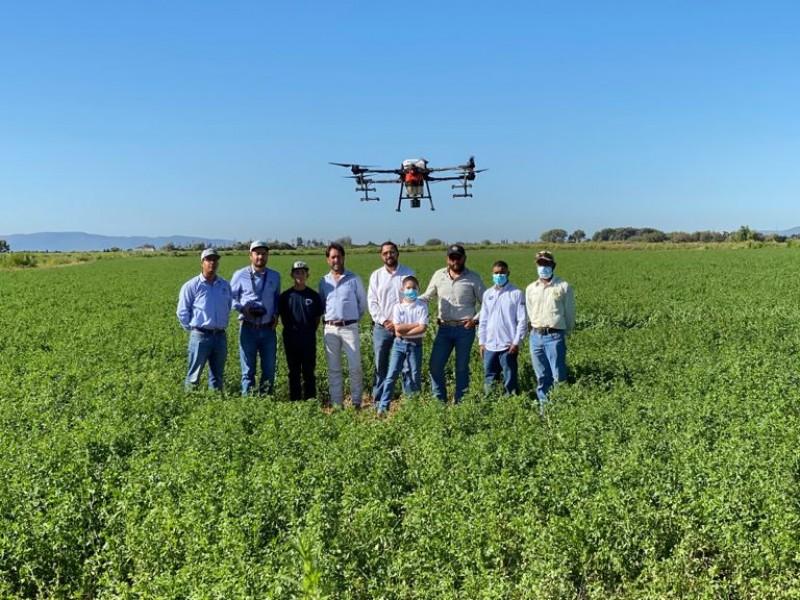 Drones Agrícolas la innovación del campo Zacatecano