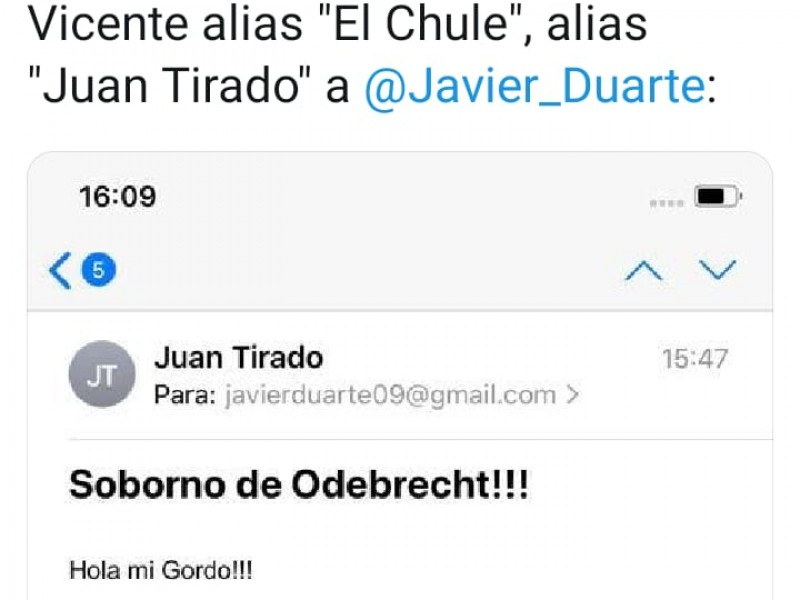 Duarte acusa de extorsión a jefe de prensa de MAYM