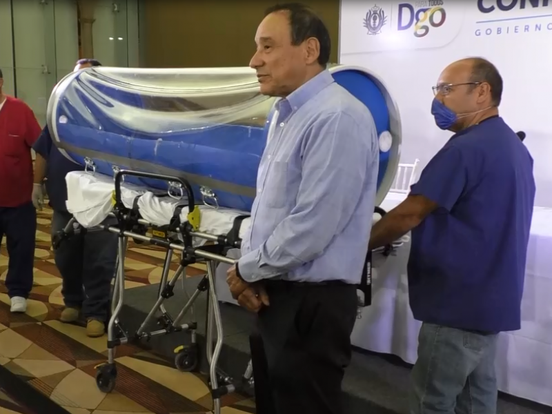 Durango elabora sus propias capsulas para trasladar pacientes del COVID-19