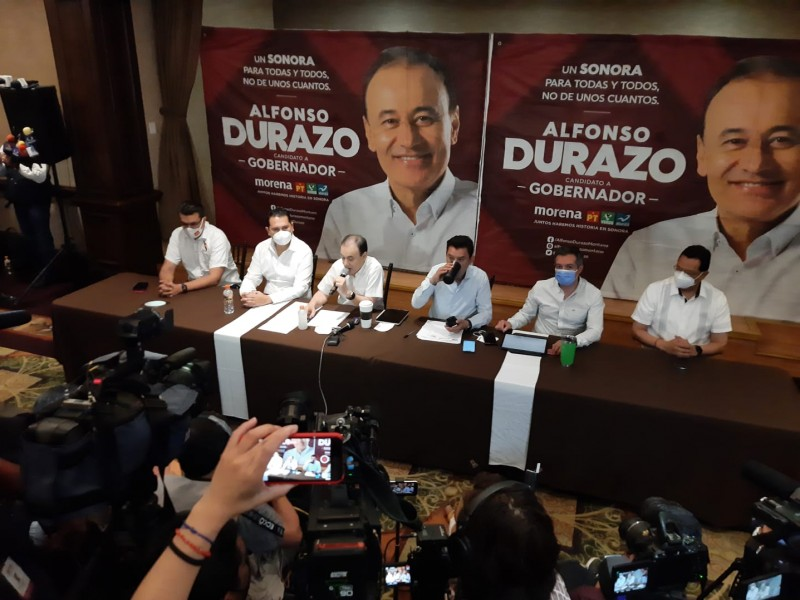 Durazo aseguró que inicia nueva etapa para Sonora