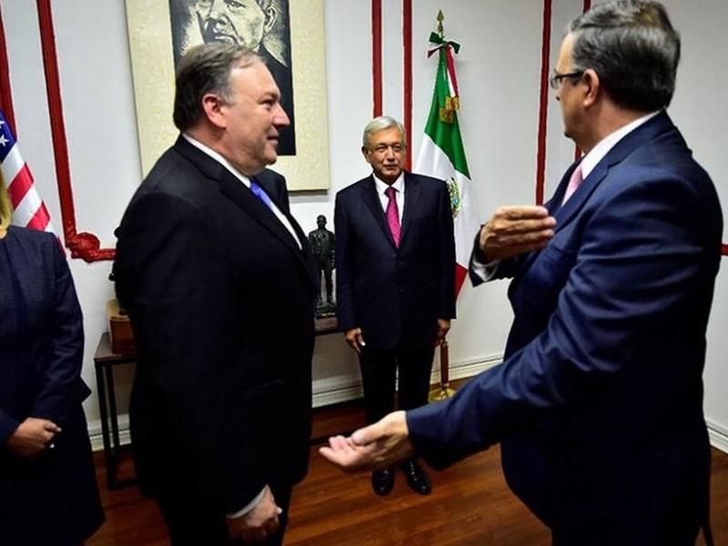 Ebrard y Pompeo se reunirán por plan migratorio
