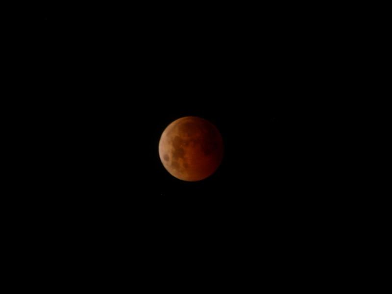 Eclipse total de luna, próximo 20 de enero