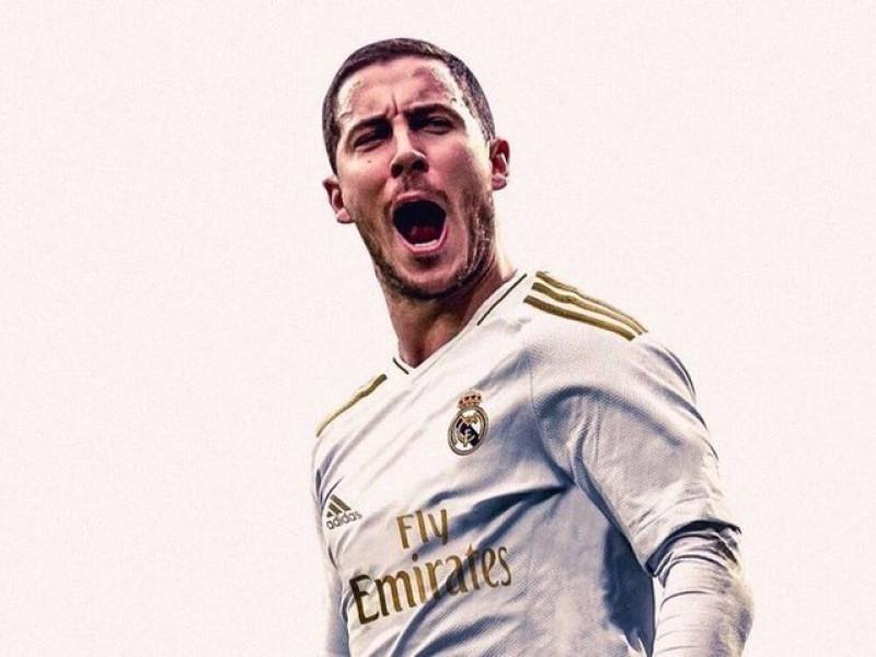 Eden Hazard es oficialmente merengue