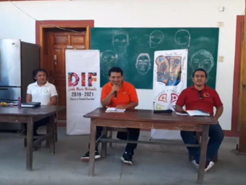 Edil de Mixtequilla exhorta a la población acatar medidas preventivas