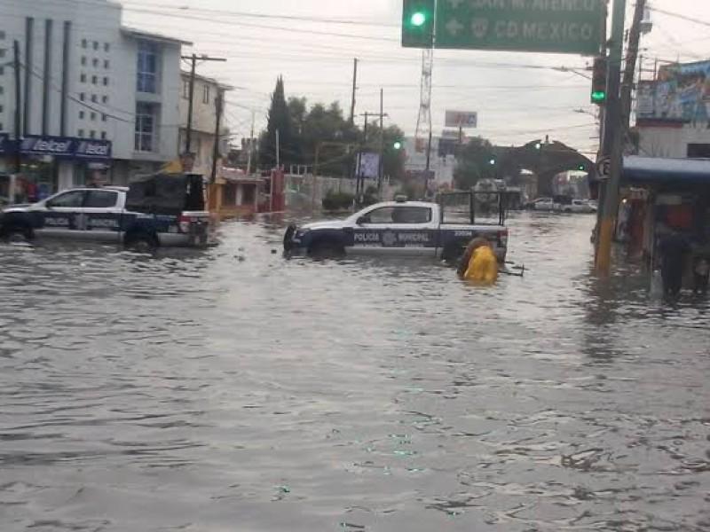 Edomex tiene 135 zonas de riesgo de inundaciones