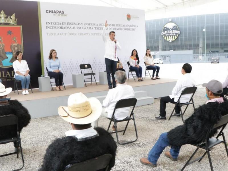 Educación avanza pese a pandemia en Chiapas