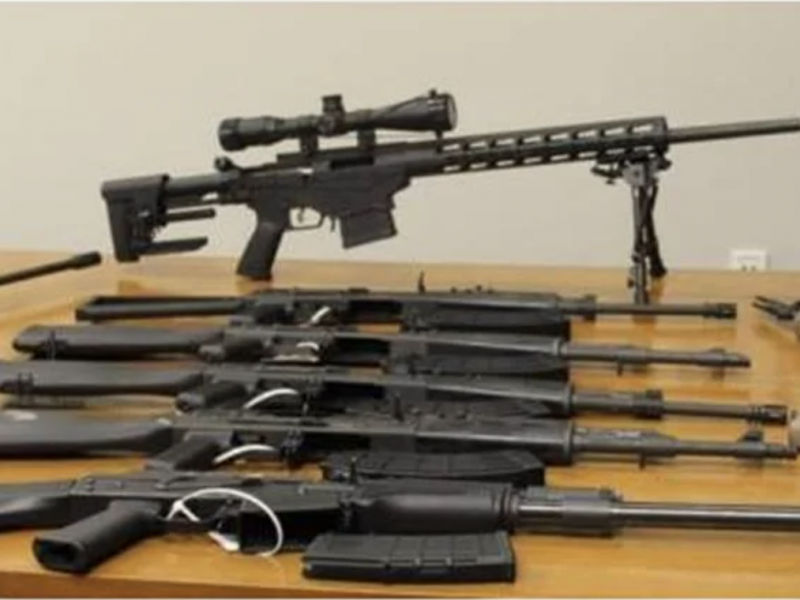 EEUU halló armamento de asalto en frontera con México