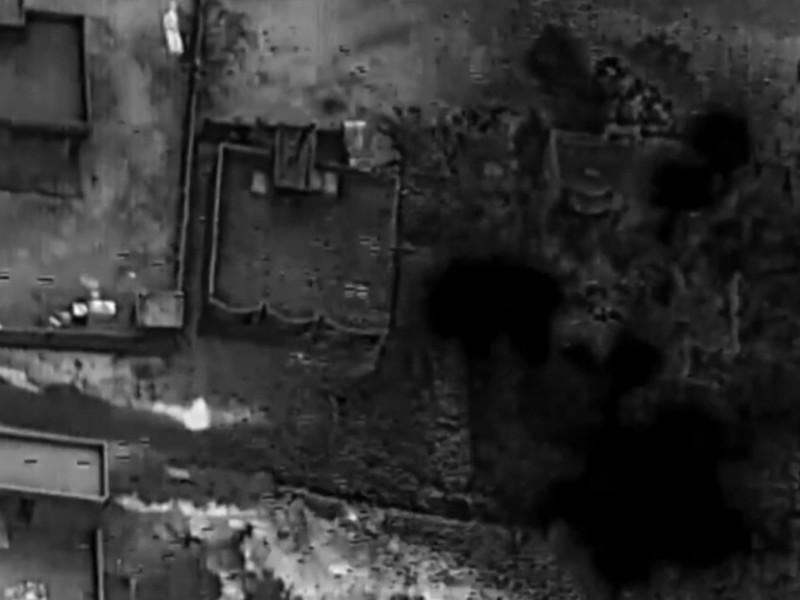 EEUU publica imágenes de su ataque aéreo contra