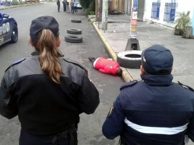 Ejecutan a dos hombres en la colonia Morelos