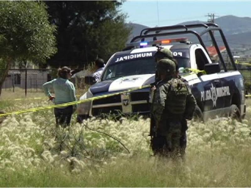 Ejecutan a tres policías en Nochistlán