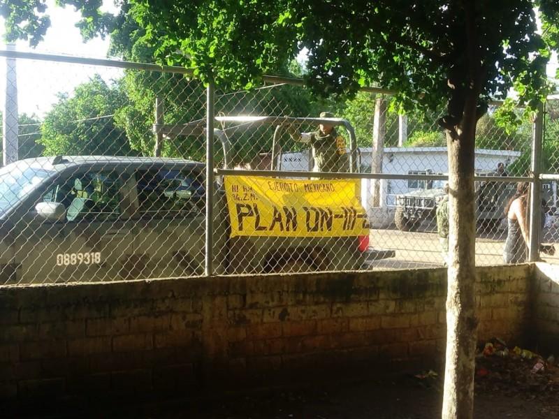 Ejército activa el Plan DN-III en Sinaloa.