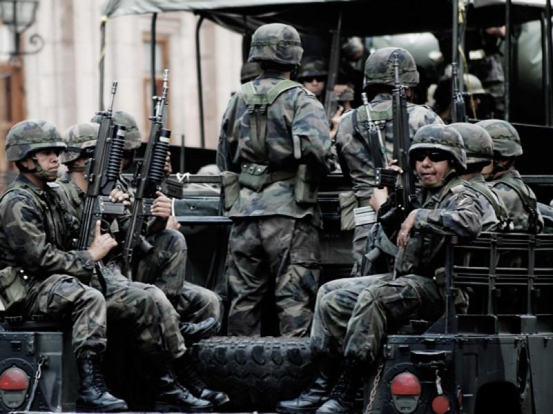Ejército hará labores de seguridad interior y pública