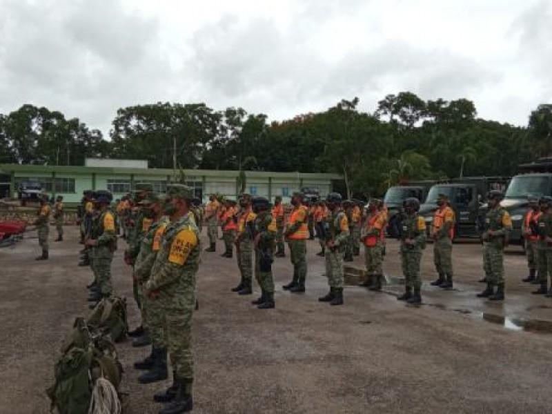 Ejército mexicano aplica Plan DN-III-E en Quintana Roo y Veracruz