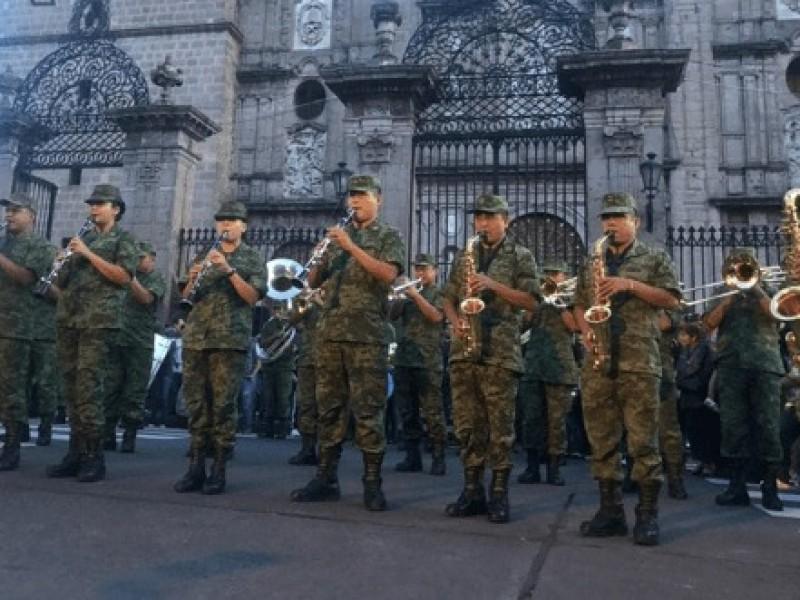 Ejército Mexicano dará concierto gratuito este sábado
