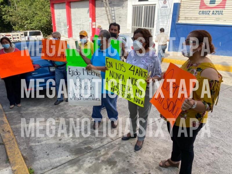 Ejidatarios exigen certeza jurídica al Tribunal Agrario 52