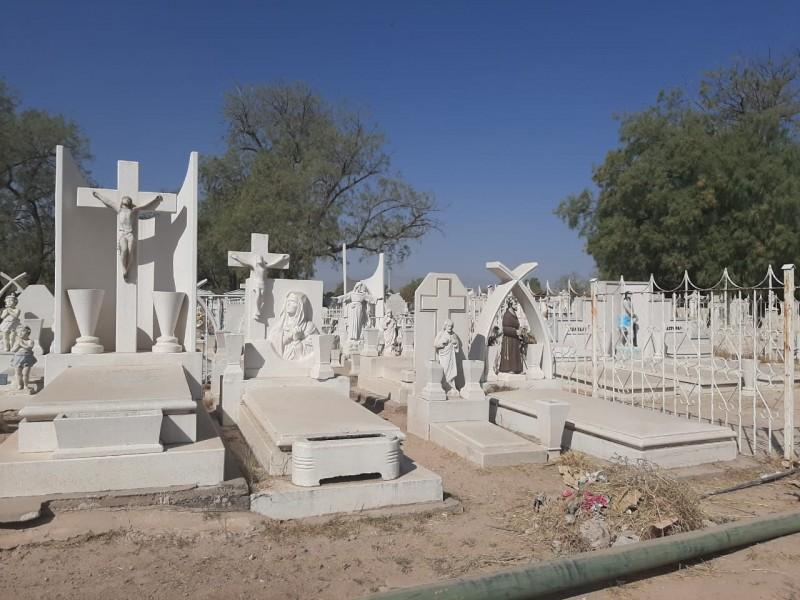 El 2 de noviembre permanecerán cerrados los panteones