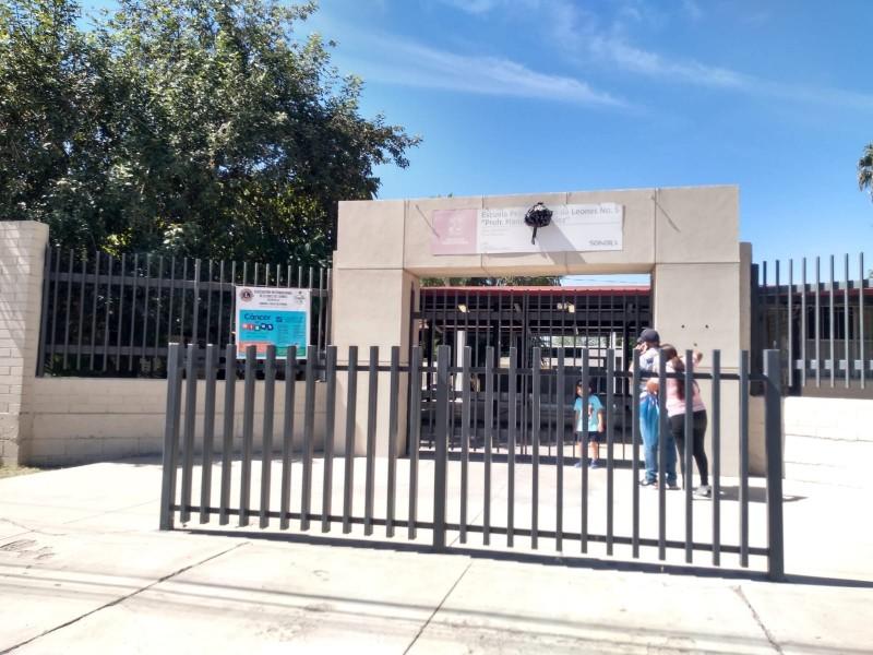 El 70% de escuelas en Sonora están abiertas