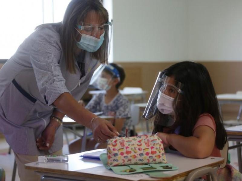 El 85% de personal docente está vacunado y listo paraclases
