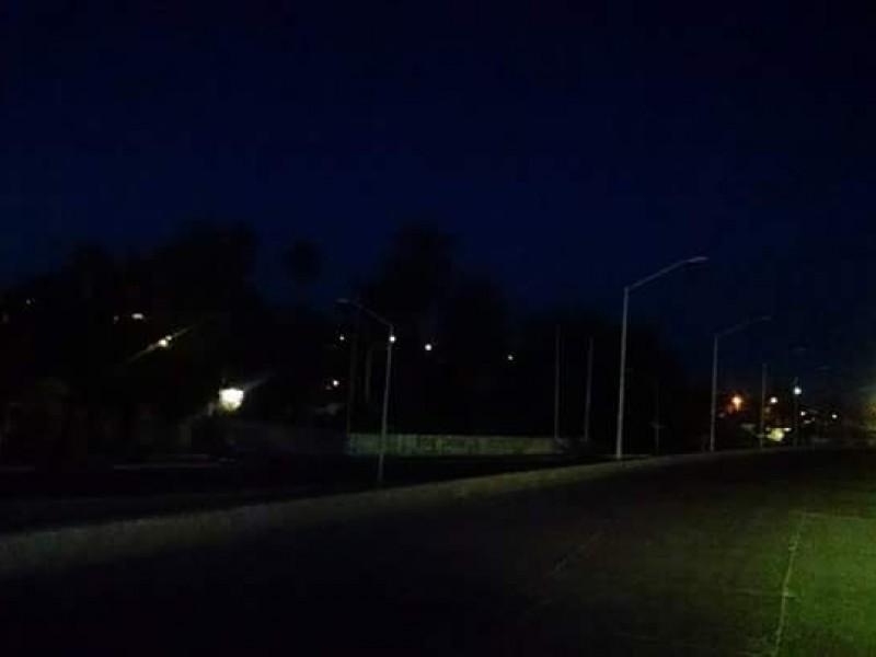 El 89% de luminarias encendidas en Guaymas