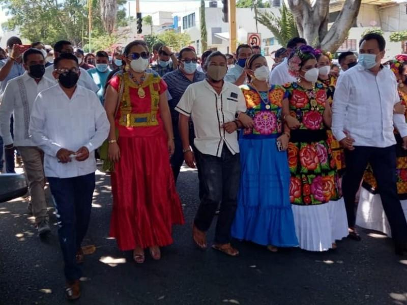 El alcalde de Juchitán pedirá licencia para participar en elección
