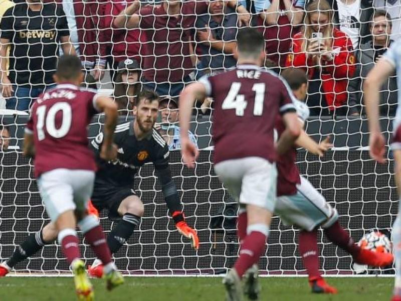 El arquero De Gea rescata al Manchester United en Londres