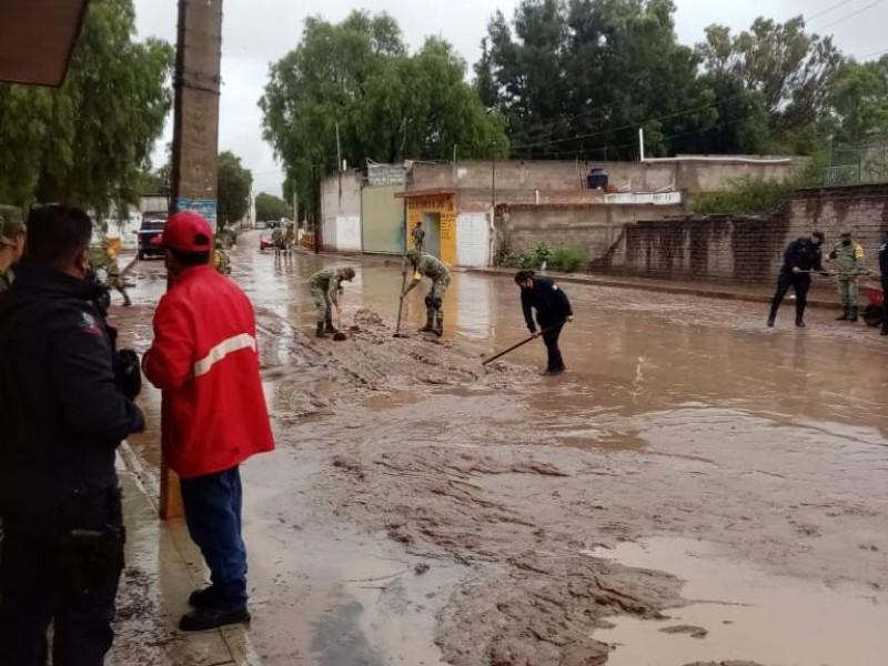Se desborda Arroyo Los Zorrillos en Jomulquillo Jerez