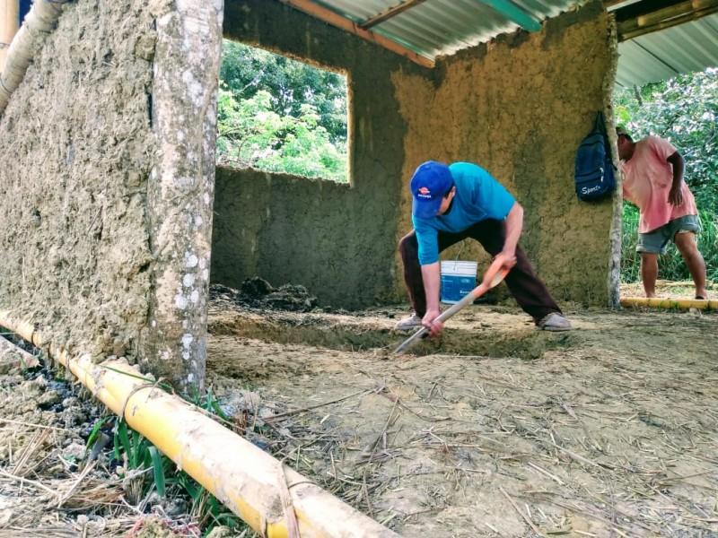 El arte de elaborar casas de adobe