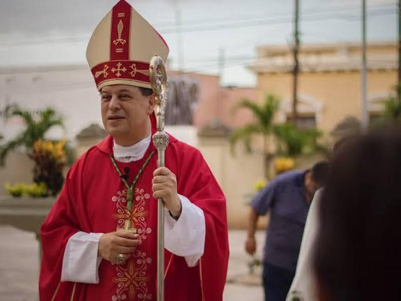 El arzobispo de Yucatán dio positivo a Covid19
