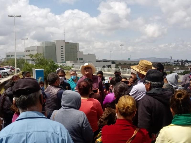 El Barzón de Calera exige justicia a la FGJEZ
